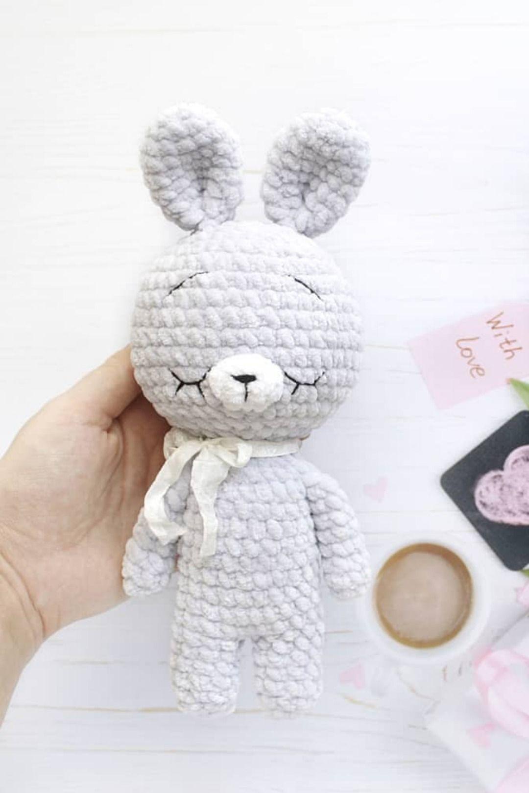 Crochet bunny Soft toy Amigurumi rabbit Baby shower gift | Etsy | 1619x1080