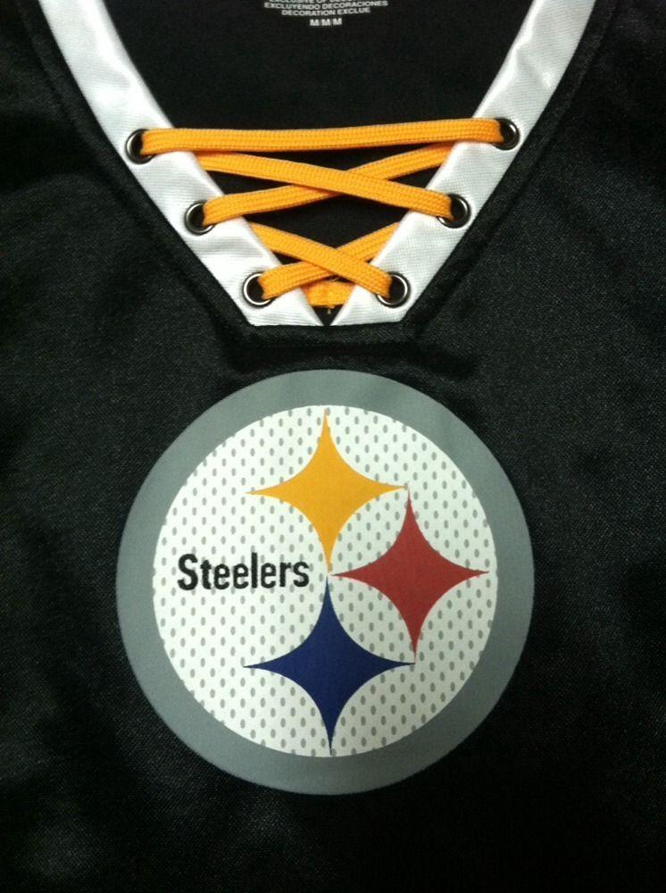Ladies pittsburgh steelers shirt football pinterest pittsburgh steelers steeler nation for Pittsburgh steelers bedroom slippers