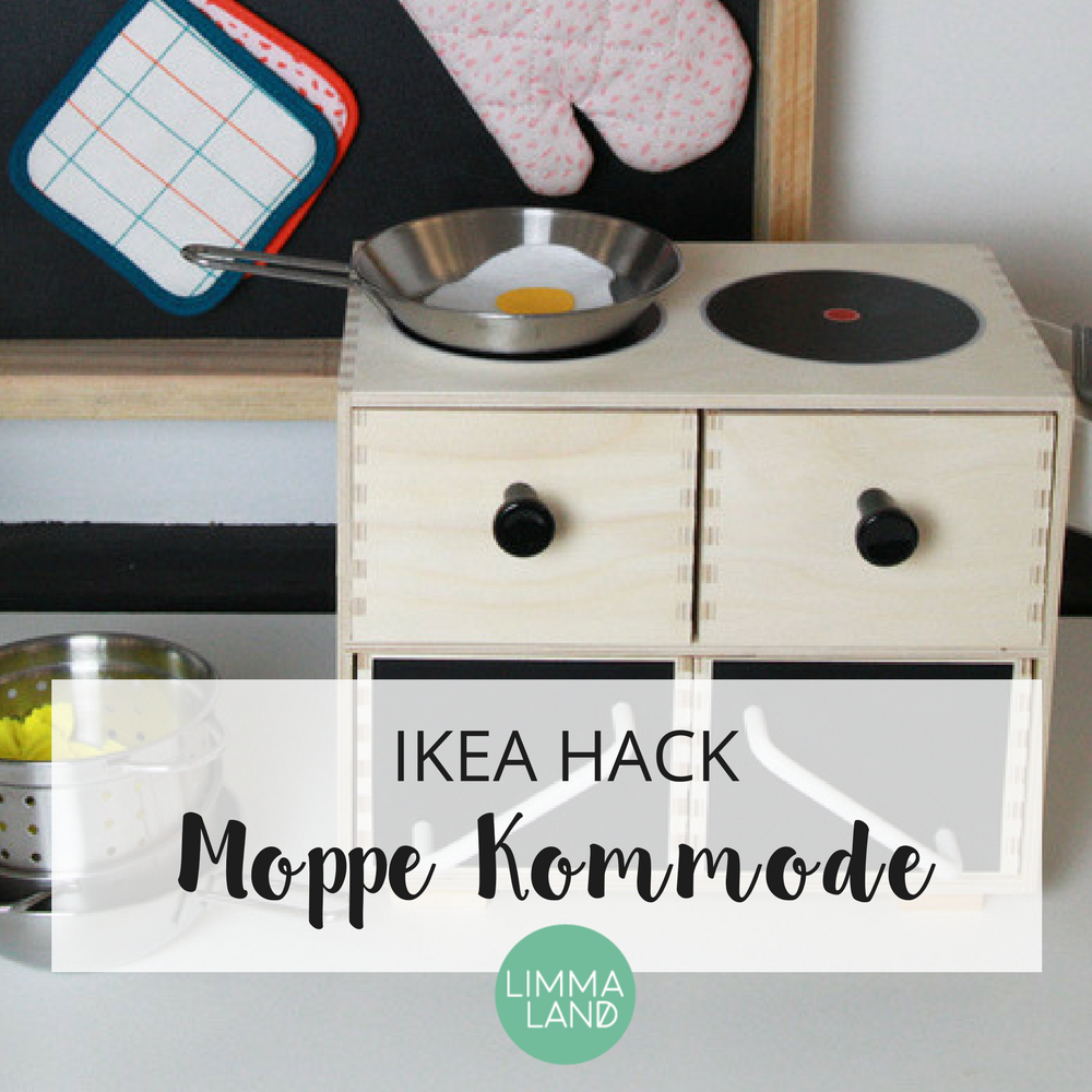 ikea moppe hack puppenk che selber bauen ganz einfach. Black Bedroom Furniture Sets. Home Design Ideas