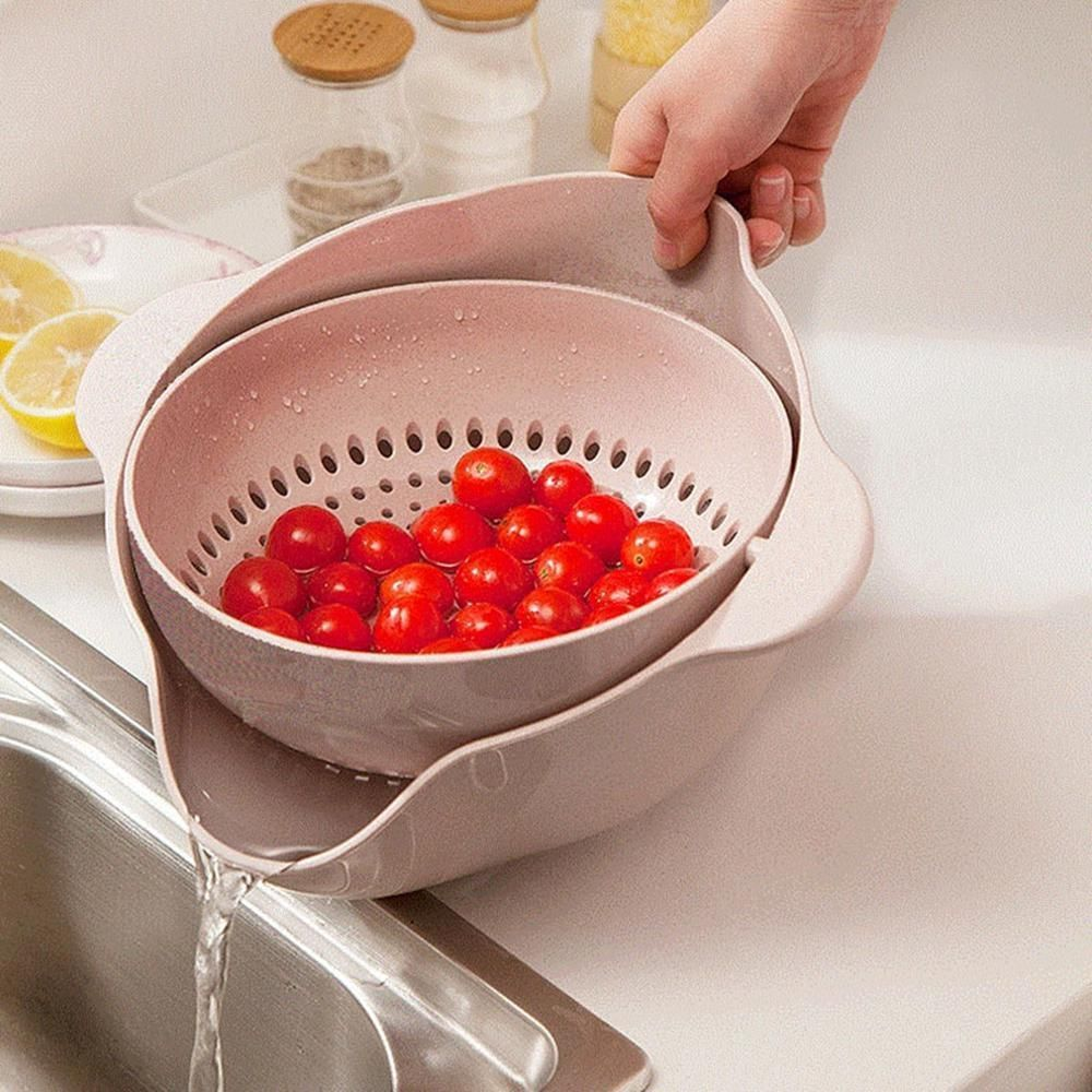 360 Colander Bowl Pink