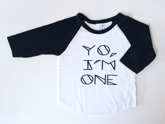 Hey I Found This Really Awesome Etsy Listing At 197318829 Yo Im One First Birthday Shirt