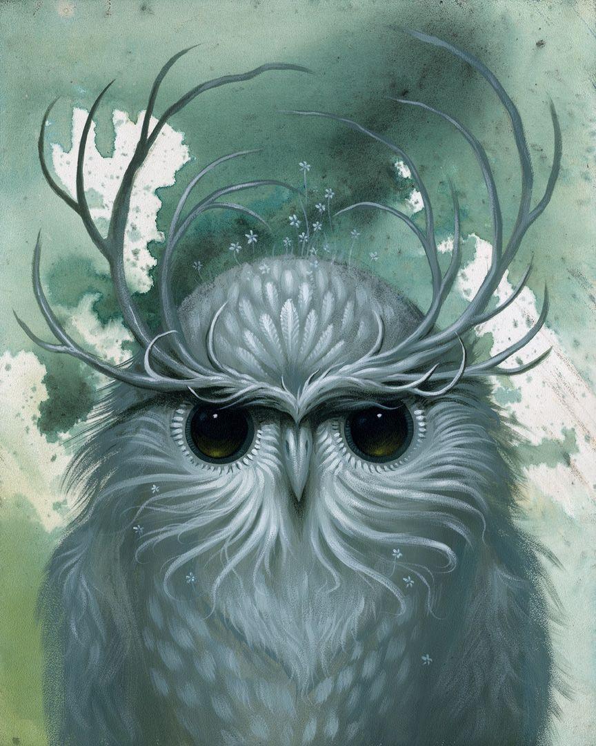 """Jeff Soto, """"Snow Owl"""""""