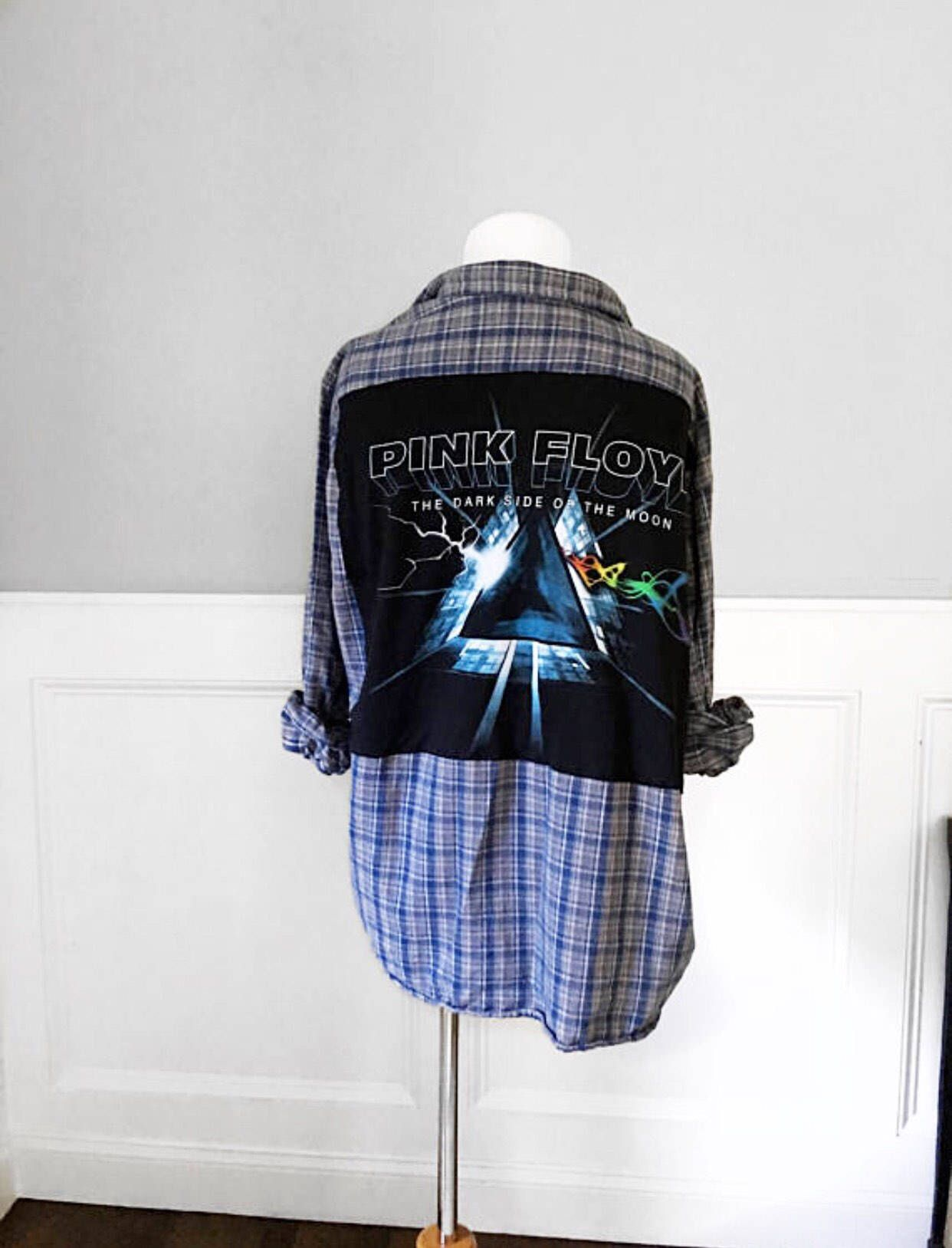 Green Day flannel shirt shirt Green Day revolution radio Concert Tshirt on new brushed coton blue and black buffalo plaid flannel shirt C1ZljX2Ay