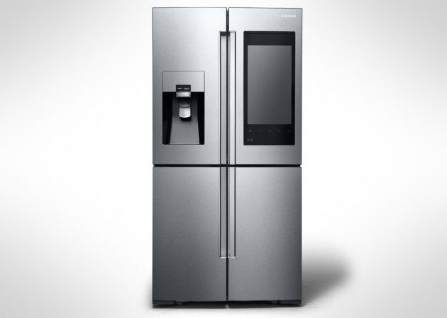 Samsung Unveils Its Brand New Family Hub Smart Refrigerator
