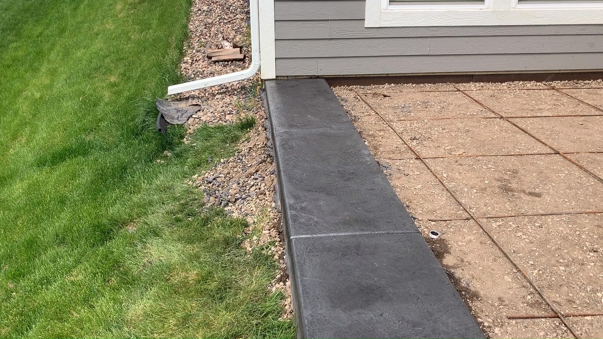 Lakeville Minnesota And Area Video Decorative Concrete Patio Concrete Patio Designs Patio Edging