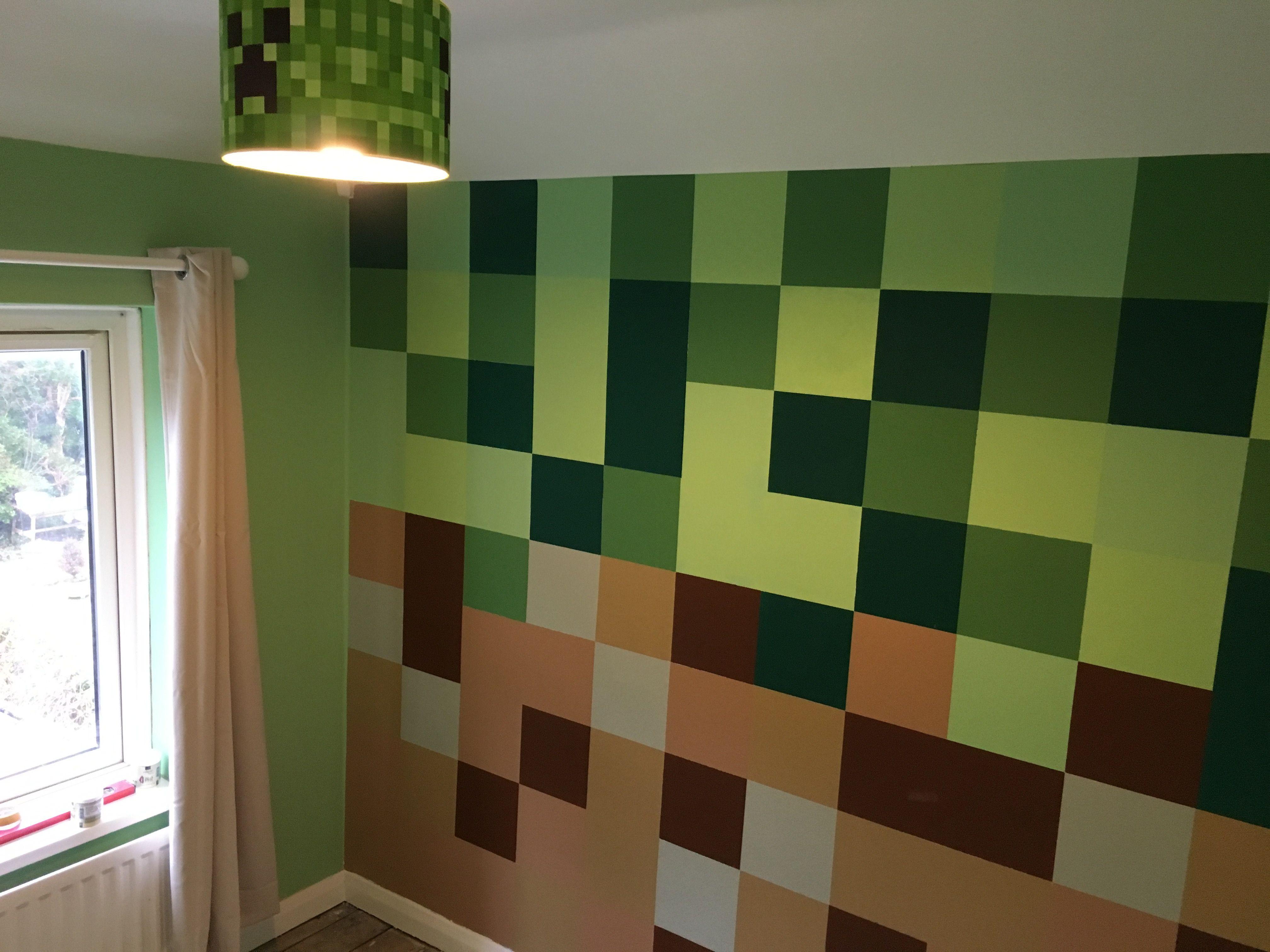 fun images minecraft bedroom wallpaper border