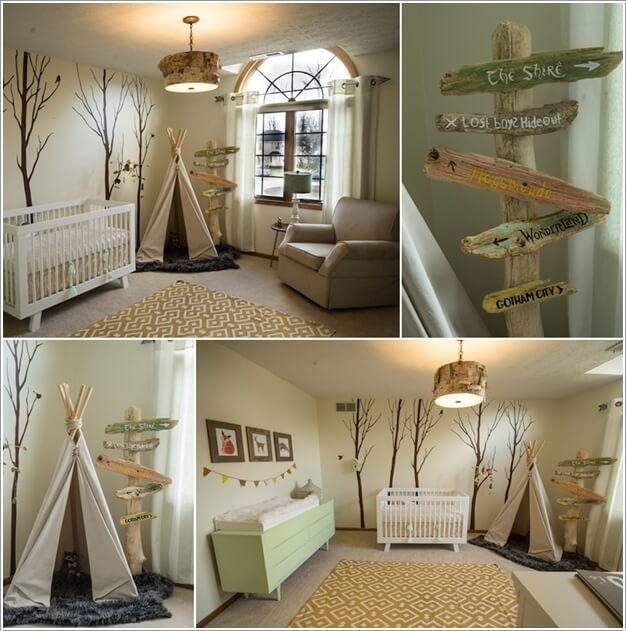 Creative Forest Themed Kids Bedroom And Nursery Decor Ideas Kids