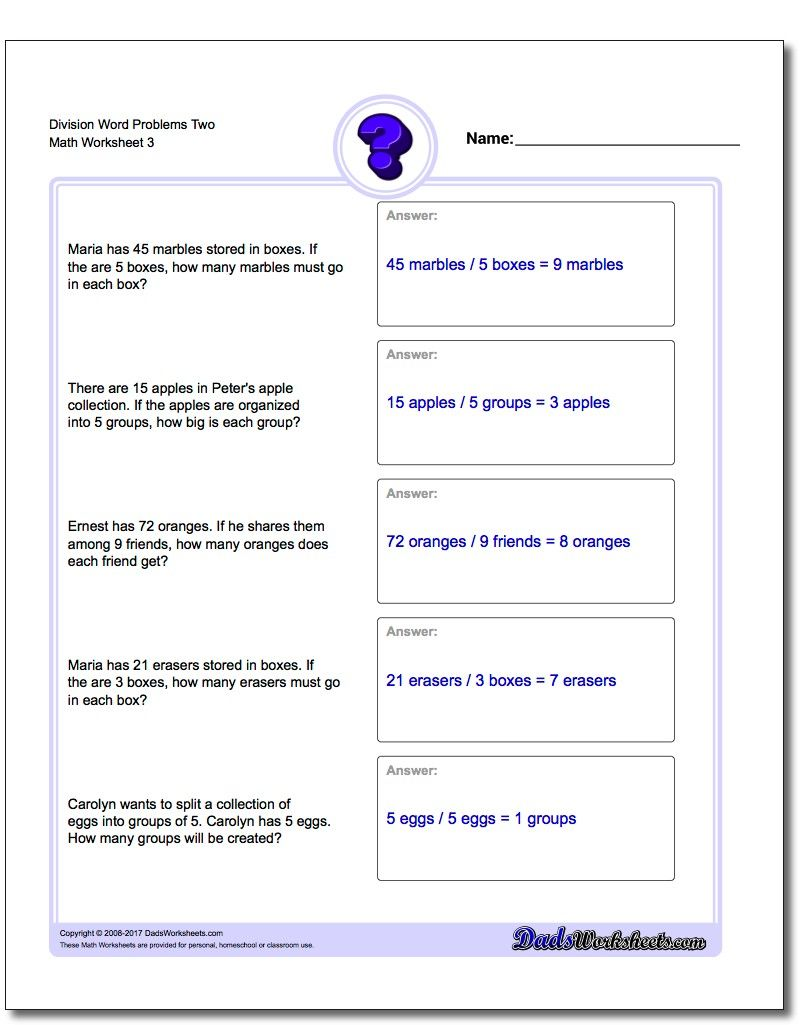 Division Worksheet Word Problems Worksheet Two Word Problems Worksheet Money Word Problems Division Word Problems Addition Word Problems [ 1025 x 810 Pixel ]