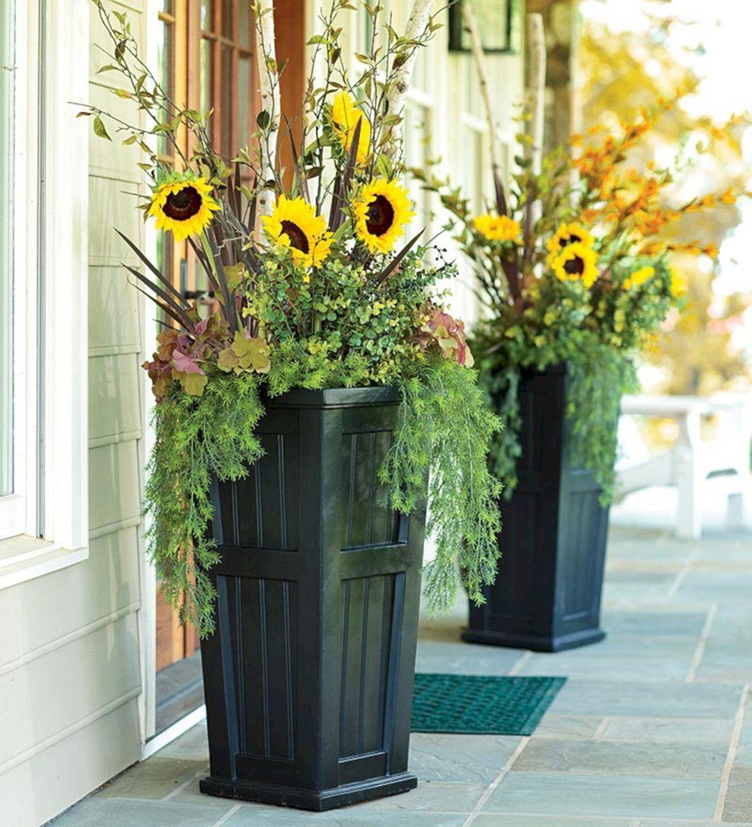 diy flower pots for front porch