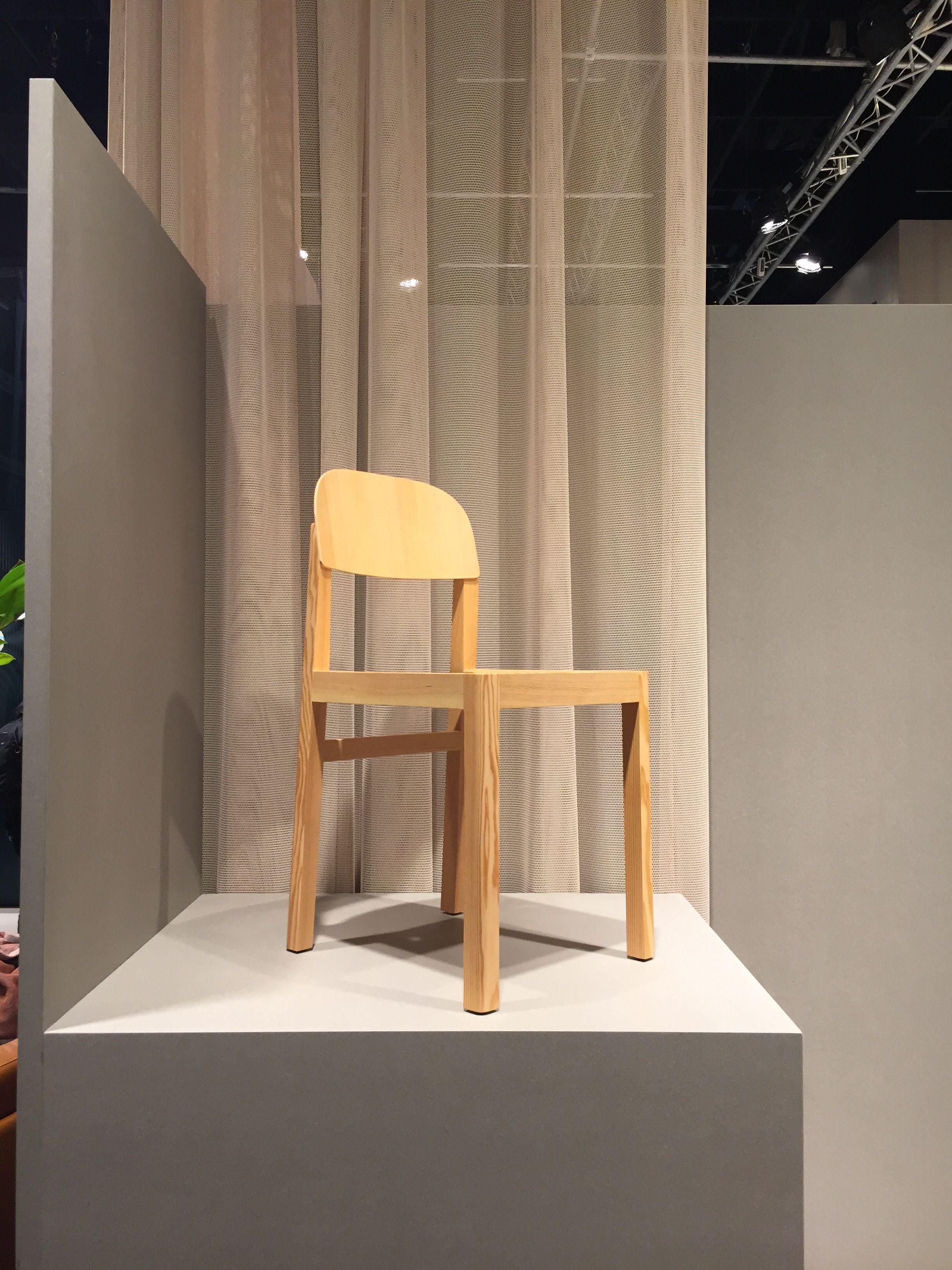 Impressionen Möbel Messe Köln 2017 Muuto Workshop Oak Chair