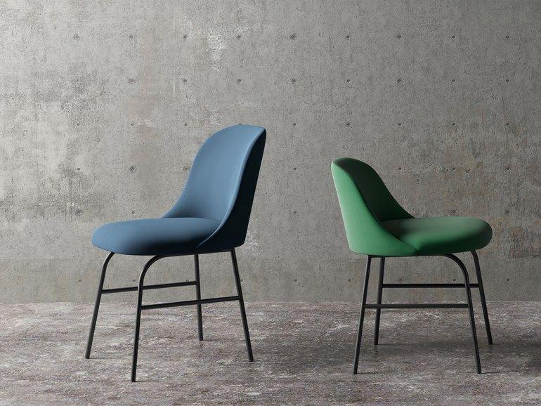 Rossetto Sedie ~ Chaise en tissu aleta chaise en tissu by viccarbe chairs
