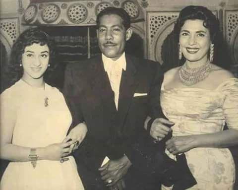 وردة الجزائرية والفنانة تحية كاريوكا Egyptian Actress Movie Stars Actors Actresses