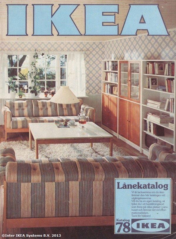 Coperta Catalogului IKEA 1978 Catalogul IKEA 1951 u2013 2006 - ikea küche värde katalog