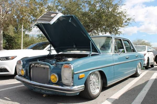 2JZ-GE Swapped: 1971 Mercedes-Benz 250 | Mercedes Engine Swaps