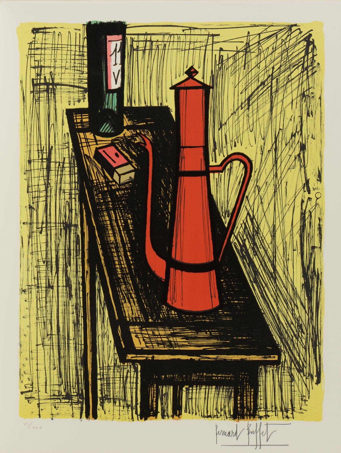 Estampe/Affiche - BUFFET Bernard (1928-1999) - Artprecium | Peintre, Peinture contemporaine et ...