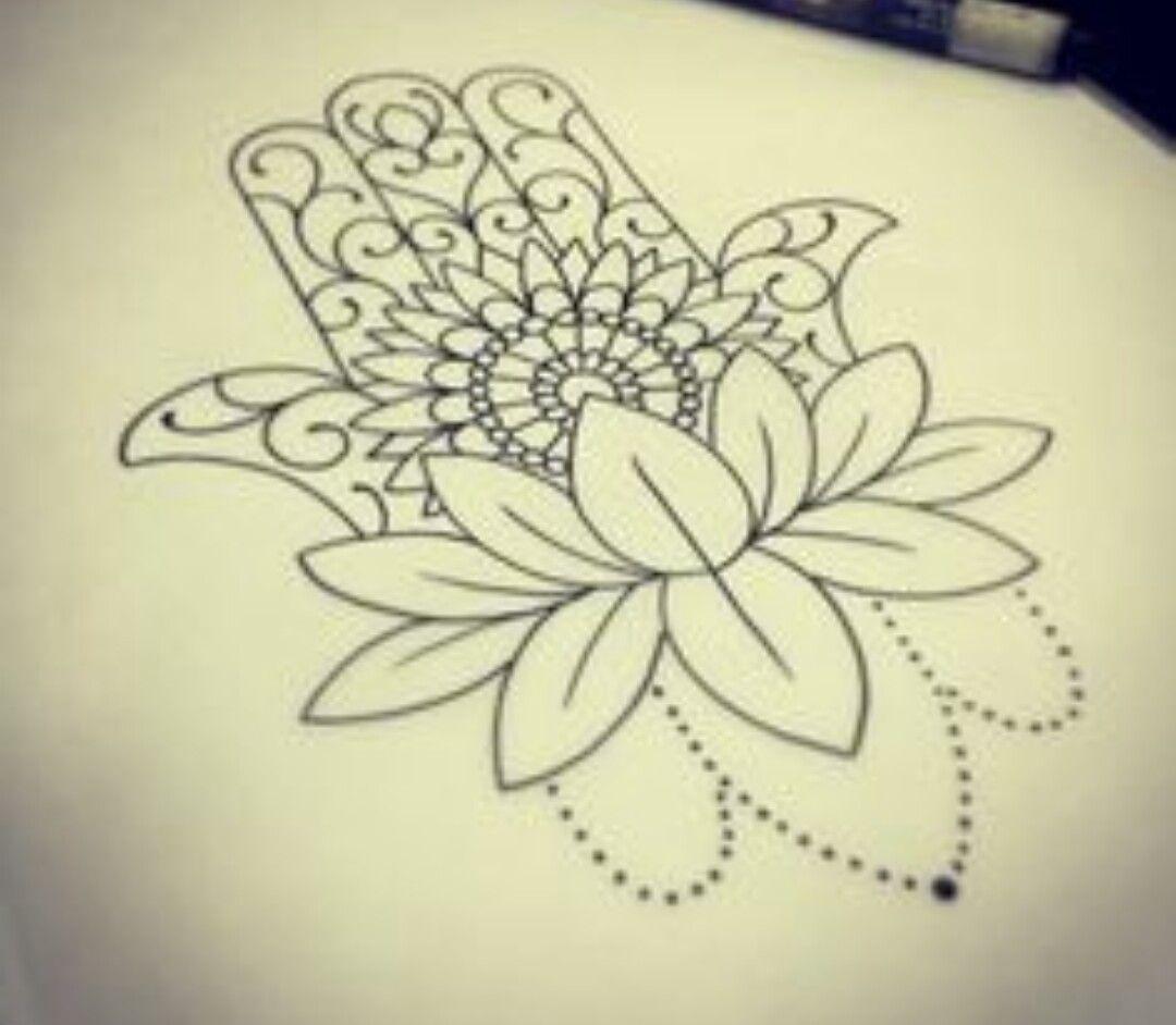 Blooming lotus designs women s - Lotus With Hamsa Blooming