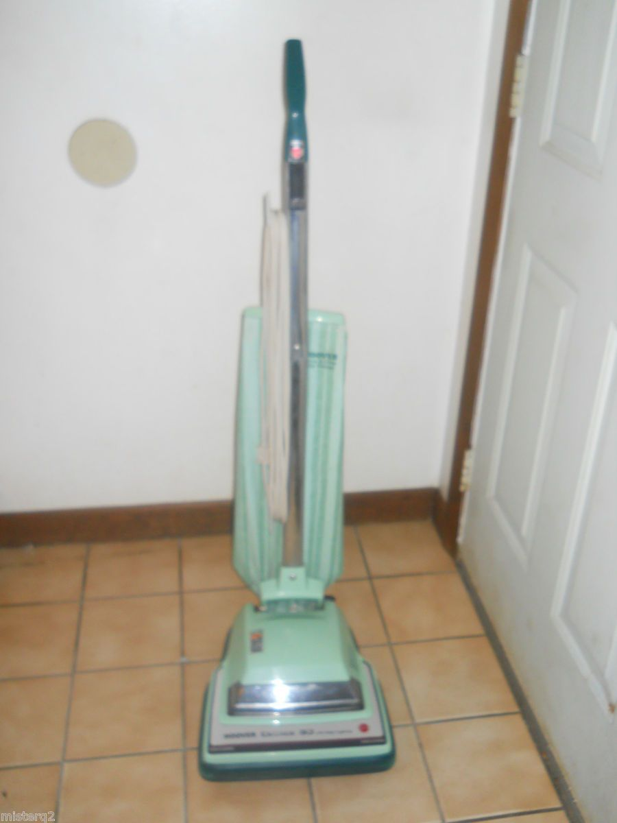 Vintage Hoover Decade 80 Upright Vacuum Cleaner With Edge