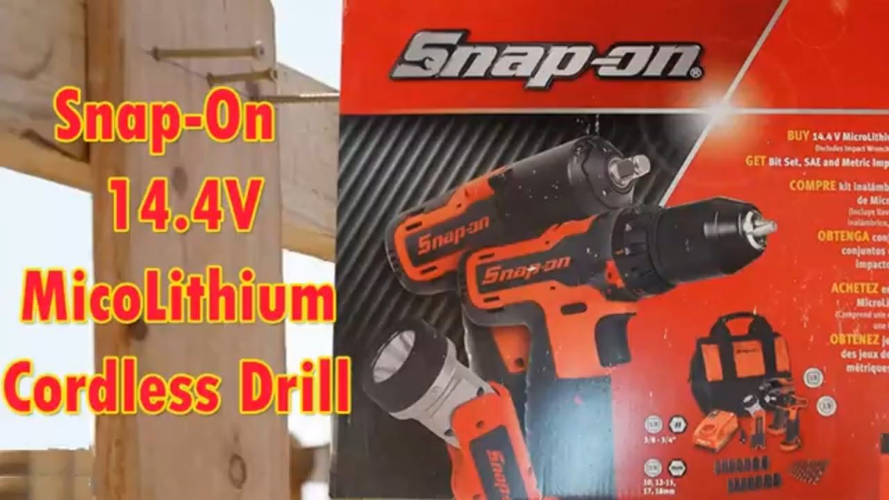 Hi Guys Today I M Reviewing The Snap On 14 4v Micolithium Cordless Drill Buy On Amazon Http Amzn To 2p7pnxg Cordless Drill Drill Youtube