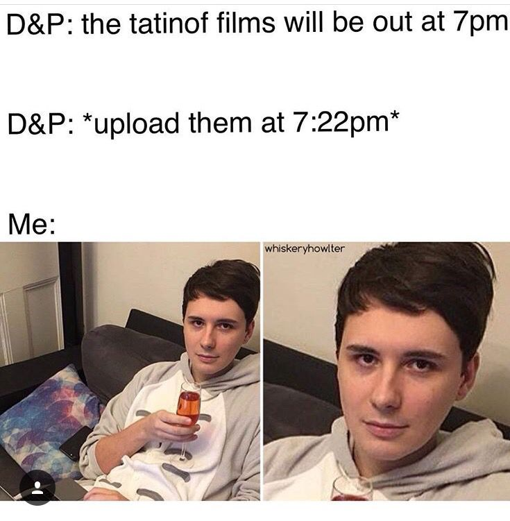 I Woke Up At 6am To Watch It I Went To Sleep At Like 1am My Eyes Were Twitching While I Was Waiting For Them To Upload Dan And Phil Phil Phil