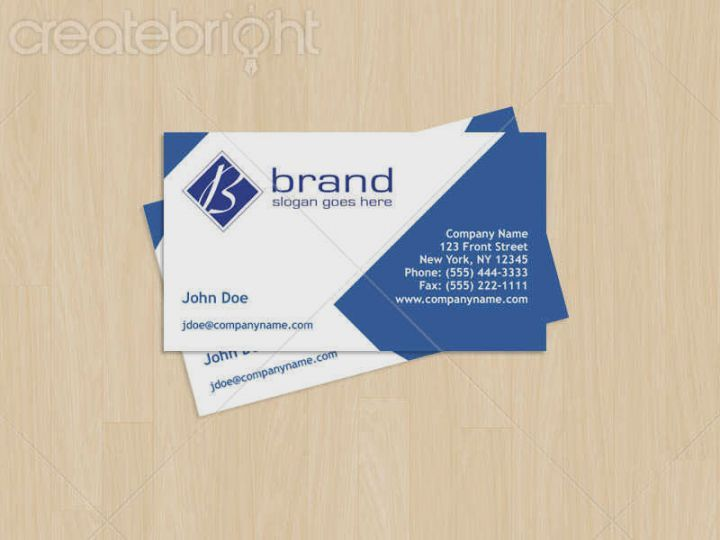 Indesign Business Card Template Business Cards Pinterest Card