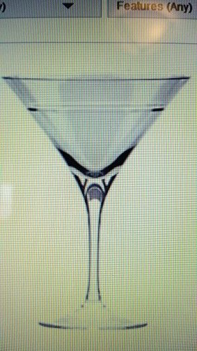 """Crystal Ball Martini- Semi Homemade 2c        white cranberry juice 4 shots green apple vodka 1 shot   cinnamon schnapps  It was stirred & poured into 2 glasses over big round ice cubes, hence """"crystal ball'.  But I thought it just sounded awesome!!"""