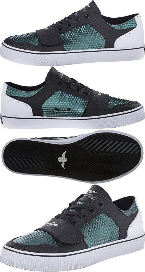 Creative Recreation Men's Cesario Lo XVI Navy/White/Petrol/Cube Sneaker 12 D