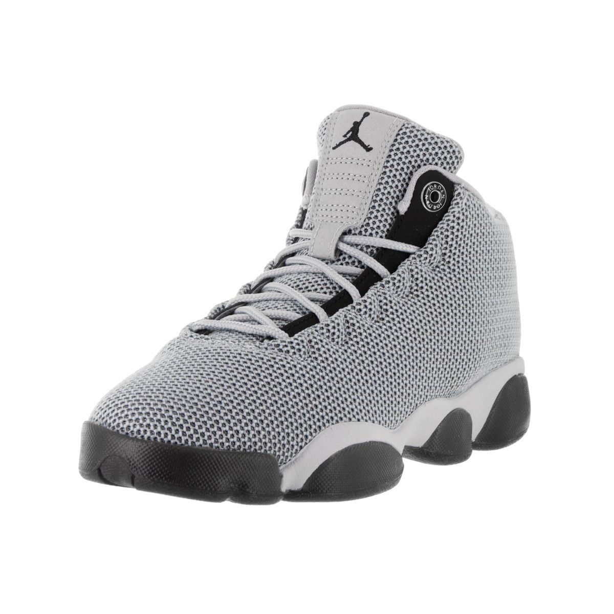 Nike Jordan Kids  Jordan Horizon Low Grey and Black Textile ... 7e4932cdf