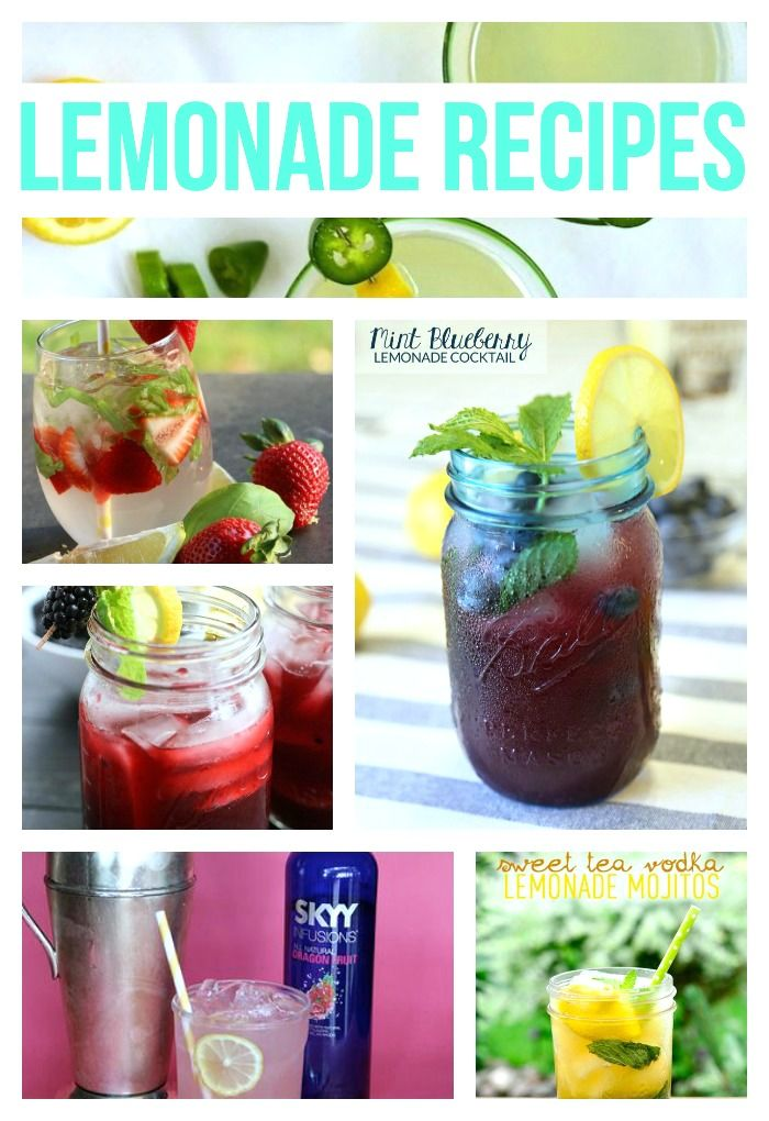 Cocktail: Raspberry Vodka Lemonade + a Roundup #raspberryvodka