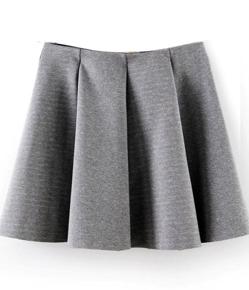 Pleated Skater Skirt | clothes   gems   bits | Pinterest | Cats ...
