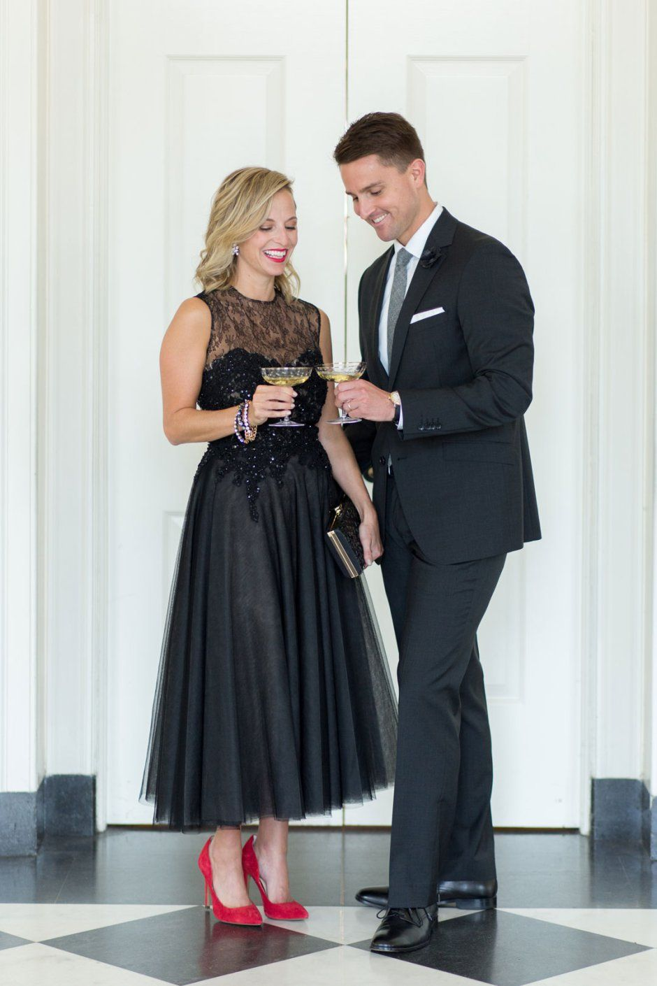 What to Wear to a Black Tie Optional Wedding black tie events