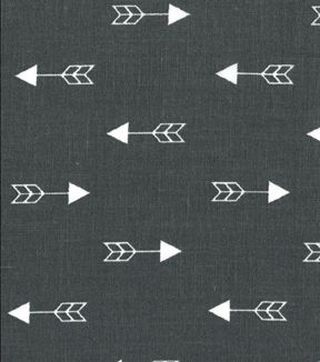 Quilter S Showcase Cotton Fabric Arrows Gray White
