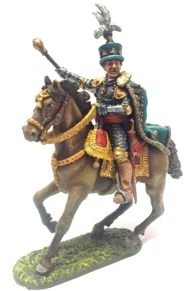 Tin soldier 54 mm King Jan III Sobieski