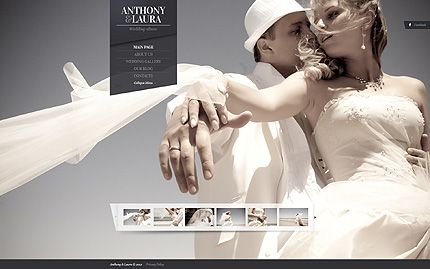 Template 40607 Awesome Wedding Al Joomla Website