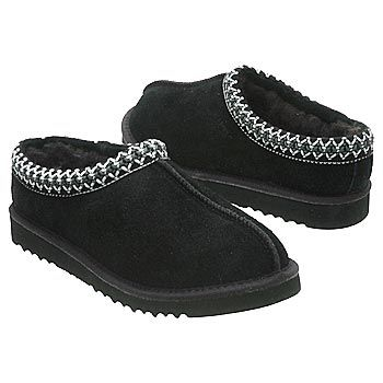 1027e479b02 UGG Tasman Slippers (Black Sheepskin) - Women's UGG Slippers- 8.0 M ...