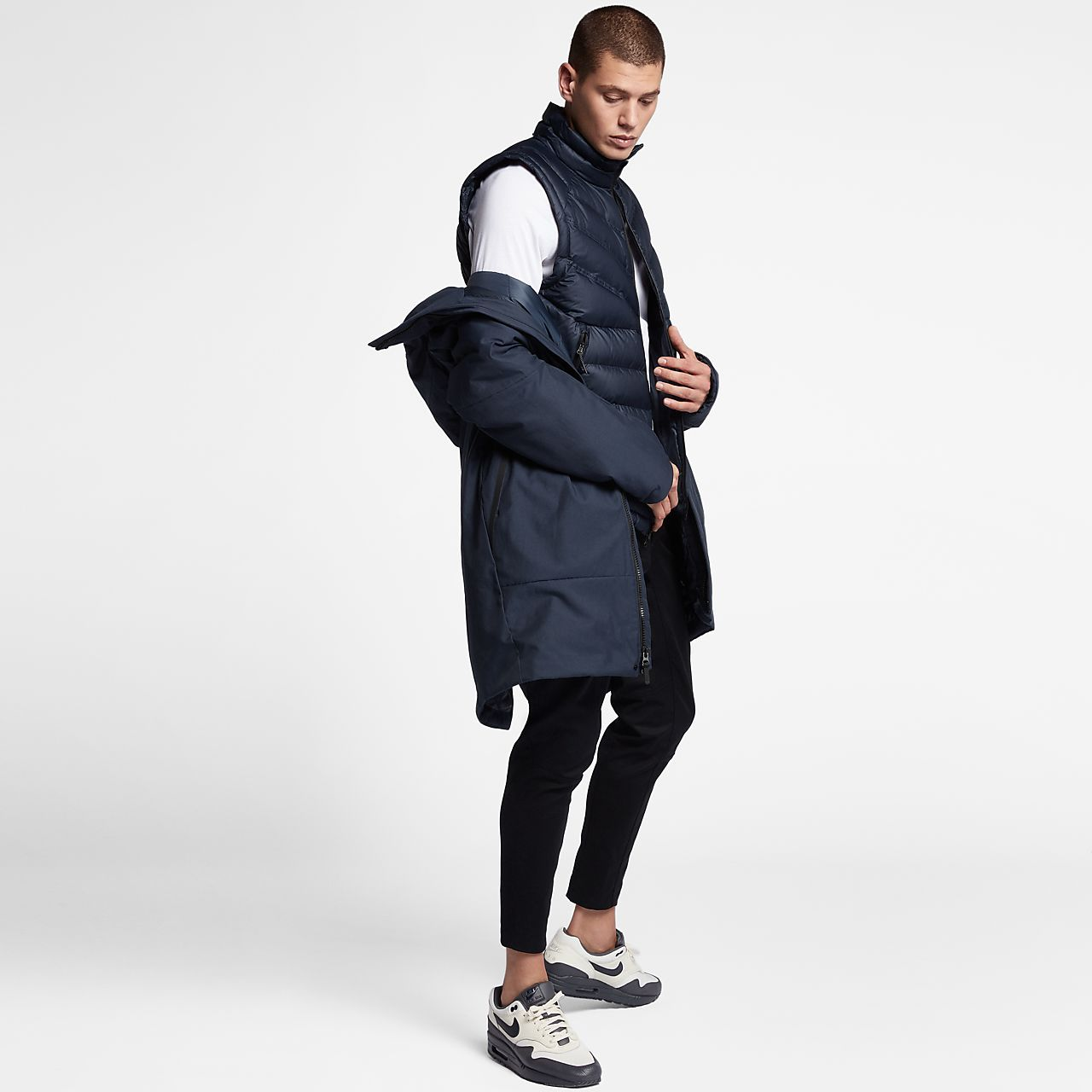 innovative design 7dcf1 853fa Kurtka męska Nike Sportswear Tech AeroLoft 3-in-1