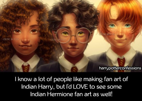 I Know A Lot Of People Like Making Fan Art Of Indian Harry But Harry Potter Obsession Harry Potter Universal Harry Potter Fan Art