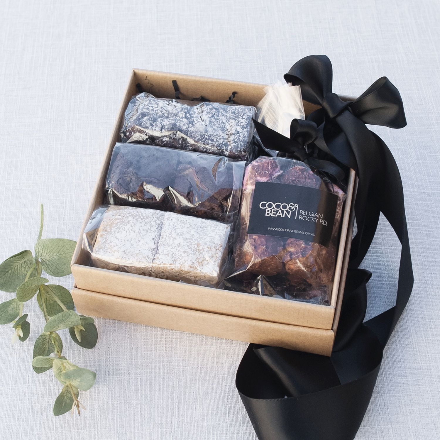 Chocolate Brownie Gift Box Real Estate Settlement Gift Ideas Coco Bean Are The Creators And Bakers Of Australia S Gifts Corporate Gifts Thank You Gifts