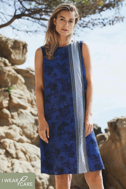 nachhaltiges sommerkleid | nachhaltige mode, lässiges kleid