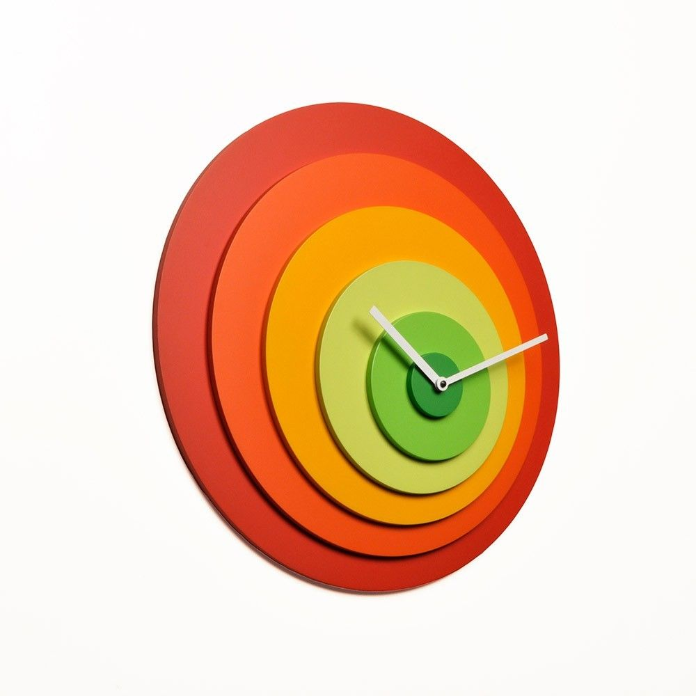 oferta en relojes modernos de la marca progetti ideal como regalo de decoracion para decorar nuestro hogar con reloj de paru