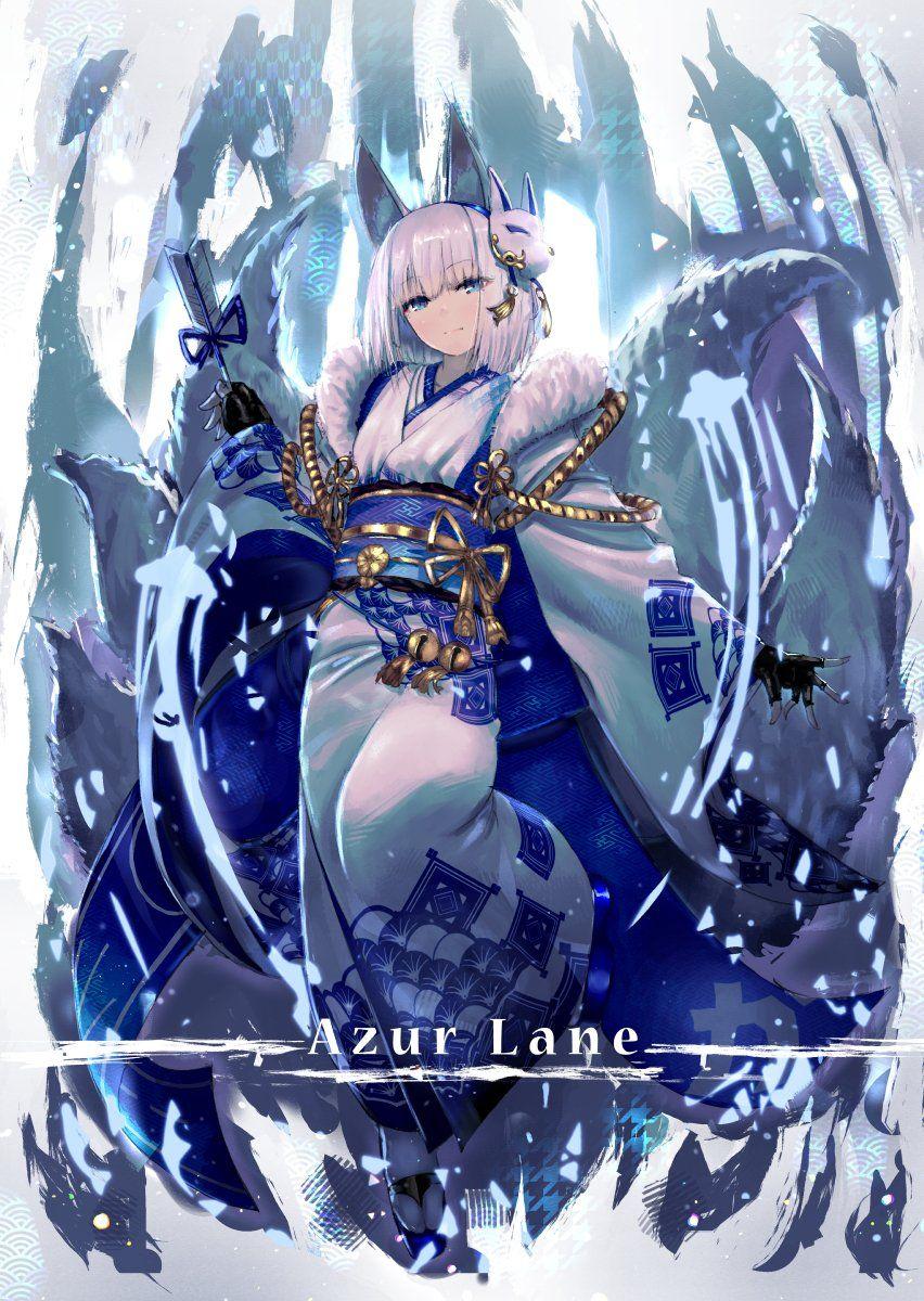 みさご 加賀 アズールレーン Anime Artwork Wallpaper Anime Anime Artwork