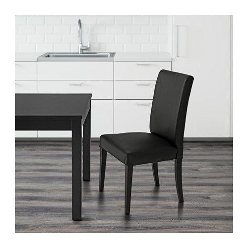 """Hendriksdal-tuolin nahkainen versio. Mukava tekstuurinvaihto samalla designilla. """"Patinoituu kauniisti"""" kuulemma."""