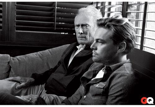 Clint Eastwood and Leonardo DiCaprio