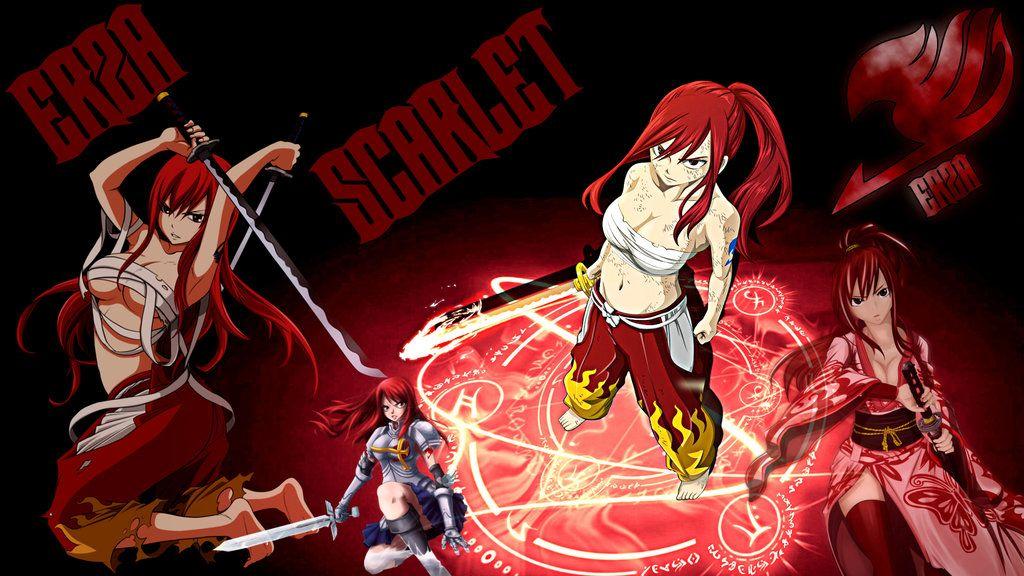 Fariy Tail Erza Scarlet Wallpaper HD by FairyTail666