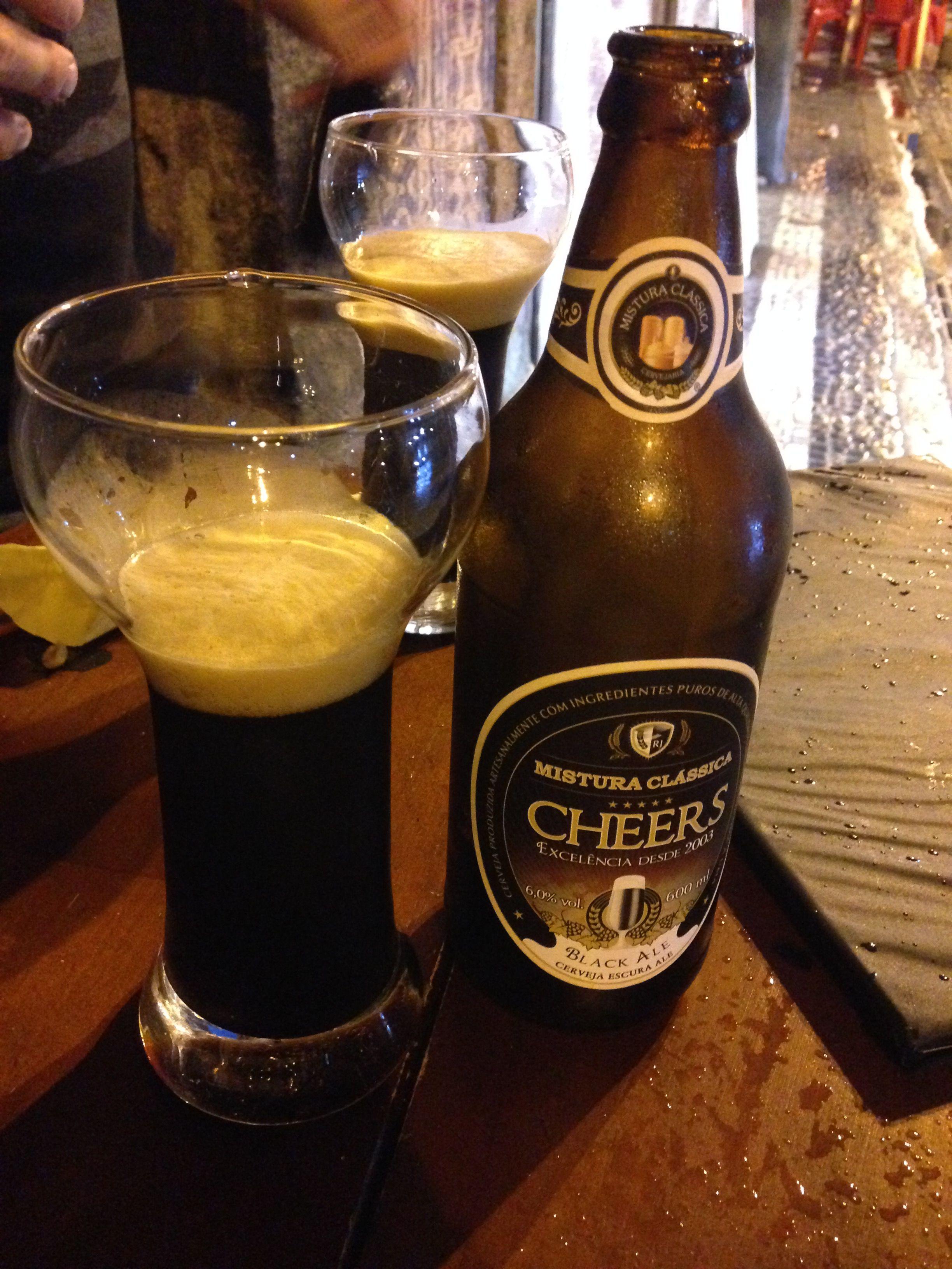 #092 | Mistura Clássica Cheers Black Ale (Volta Redonda / RJ, Brasil)