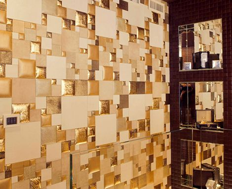 Rustic Wall Covering Ideas | Leather Wall Panels - decorative ...