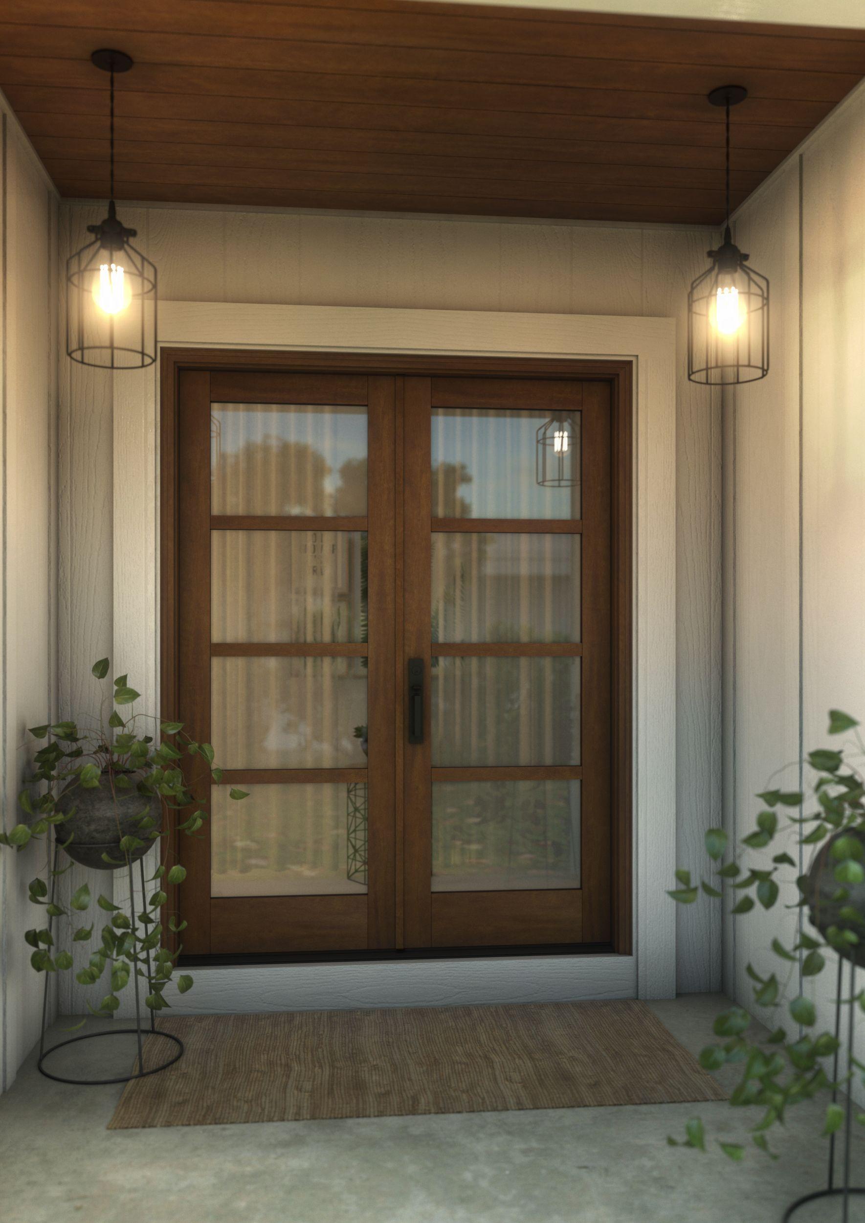 4 Lite Tdl Mahogany Exterior Or Interior Double Door In 2020 Double Doors Interior Luxury Living Room Decor Door Design Wood