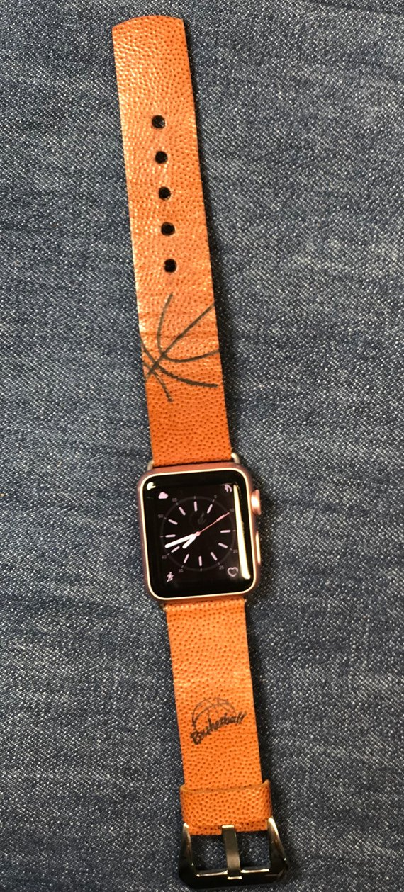 Basketball Fitbit, Samsung Watch and Apple iwatch Bands Personalized