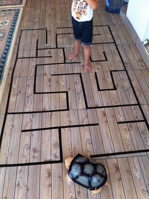 figyelem fejlesztő játék labirintus