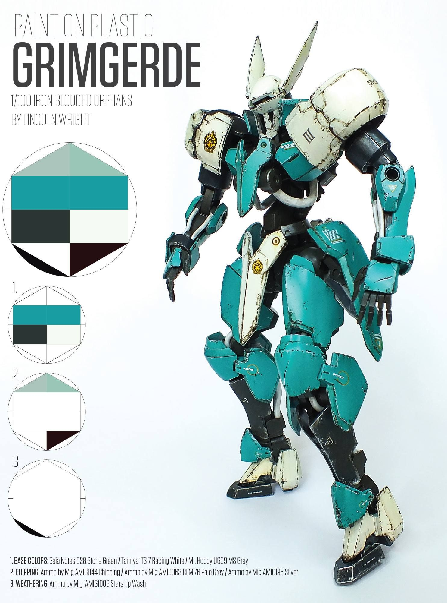 Grimgerde Custom Paint Guide PDF Download | Gundam