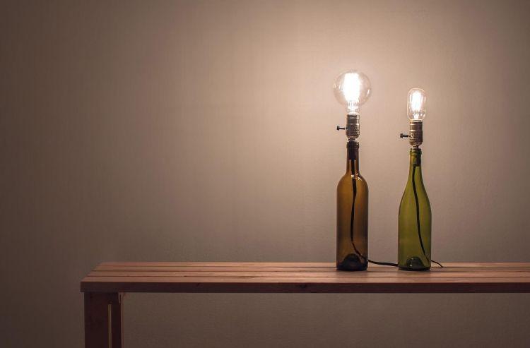 Lampe Flaschenhalter Eine Weitere Bildergalerie Für Möbel